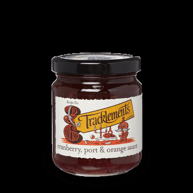 Tracklements Cranberry, Port & Orange Sauces 250G