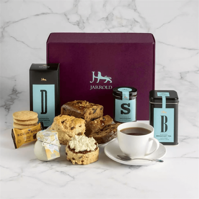 Jarrold Afternoon Cream Tea Fresh Hamper 2021