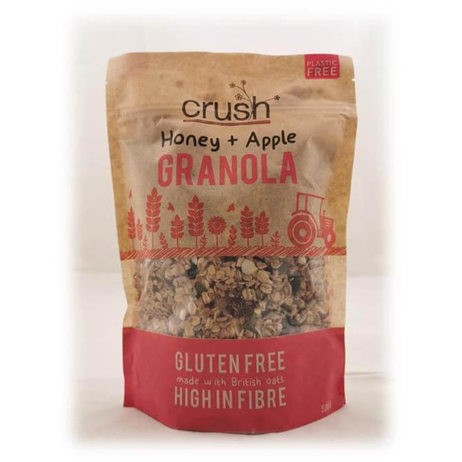 Crush Gluten Free Honey and Apple Granola 500g