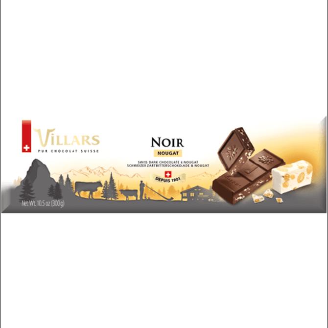 Villars Dark Chocolate with Nougat 300g