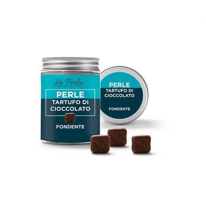 La Perla Dark Chocolate Pearl Truffles 50g
