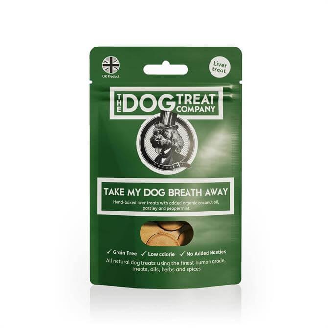 The Dog Treat Company Take My Dogs Breath Away Dog Treats 50g