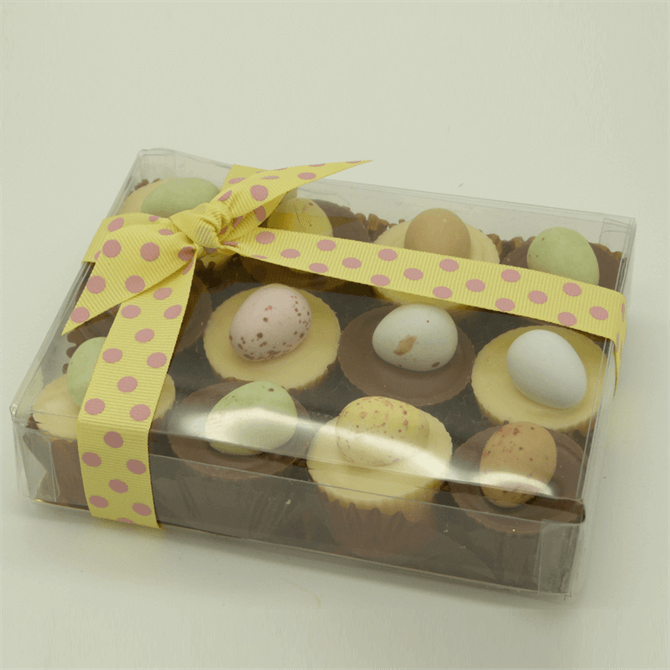 House of Flavour Milk & White Chocolate Truffle Cups 180g