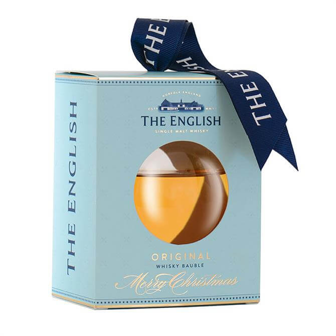 The English Whisky Company Christmas Bauble