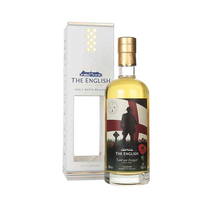 The English Lest We Forget Whisky 70cl