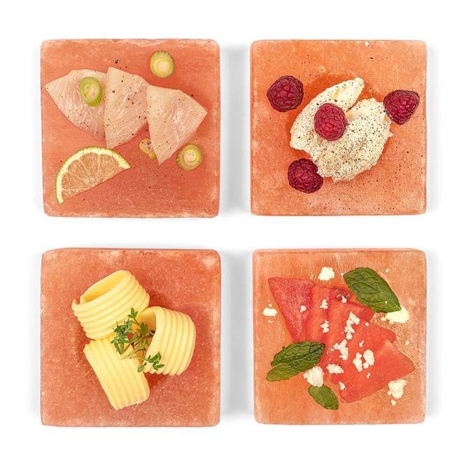 RIVSALT 020 Himalayan Salt Plates- Freeze and Serve