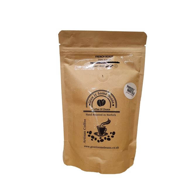GIVE IT SOME BEANS TOP FUEL 125G FRENCH ROAST COFFEE