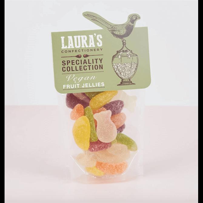Laura's Confectionary Vegan Assorted Fruit Jellies 159g