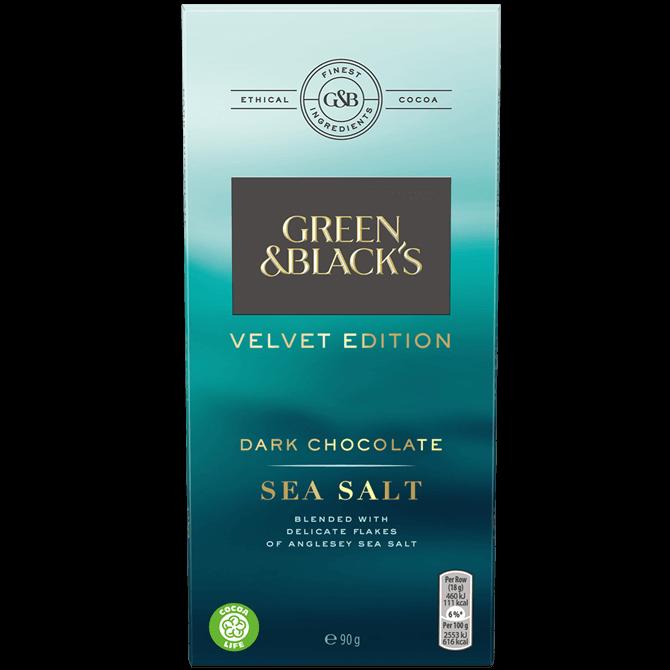 GREEN AND BLACKS VELVET SEA SALT 90G