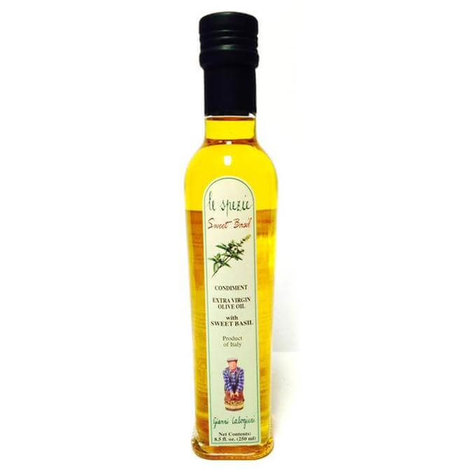 Gianni Calgiuri Extra Virgin Olive Oil With Basil 250ml