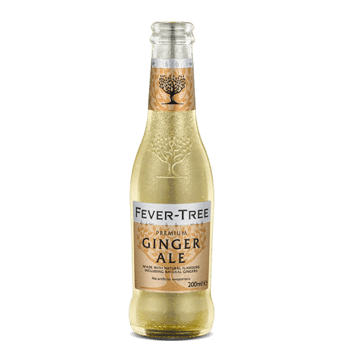 Fever-Tree Ginger Ale Tonic Water 200ml