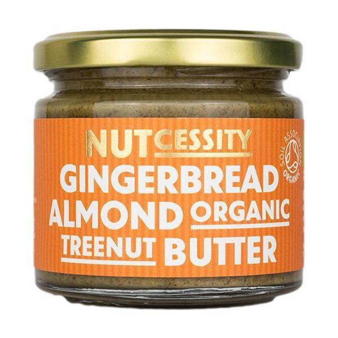 NUTcessity Gingerbread Almond Organic Treenut Butter 180G