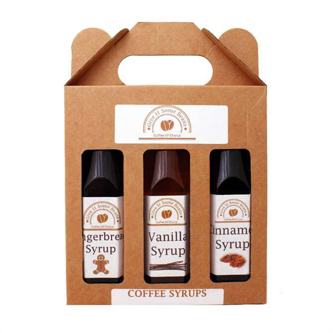 Give It Some Beans Coffee Syrup Set 3 x 250ml