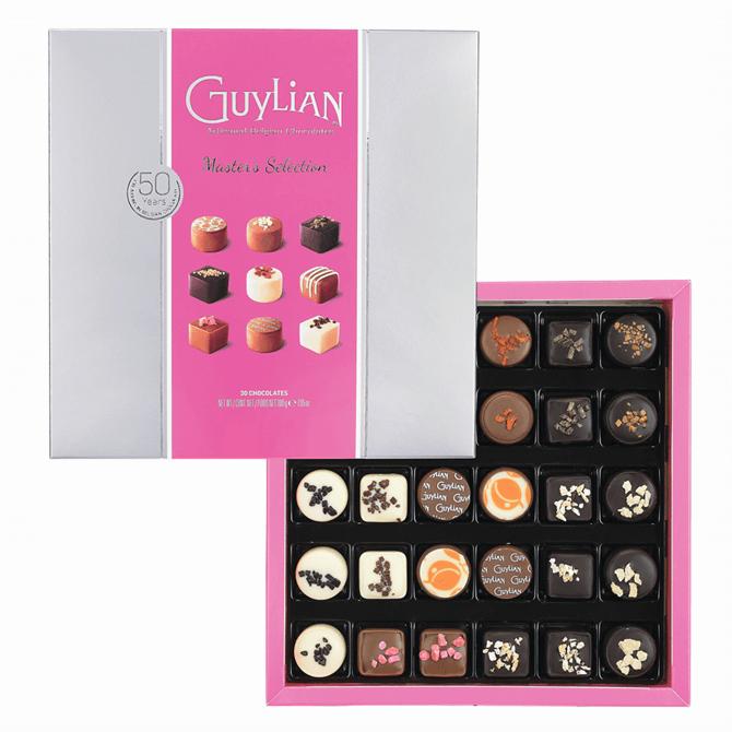 Guylian Masters Selection Pink Gift Box 200g
