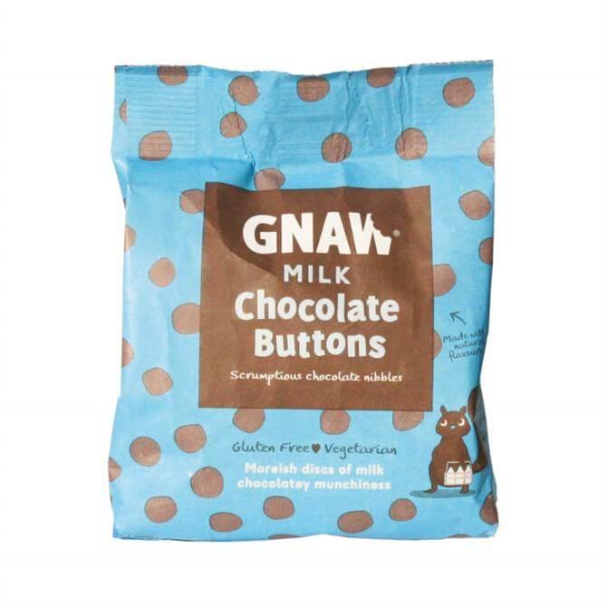 DNPL Gnaw Milk Chocolate Buttons 150g