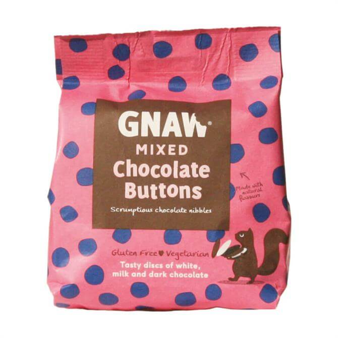 DNPL Gnaw Mixed Chocolate Buttons 150g