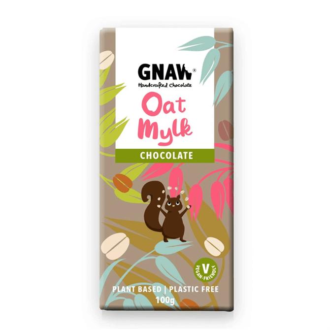 Gnaw Oat Mylk Chocolate Bar 100g