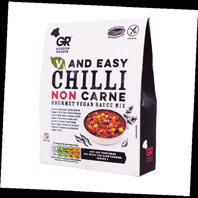 Gordon Rhodes Vegan Chilli Non Carne Gourmet Sauce Mix 75g
