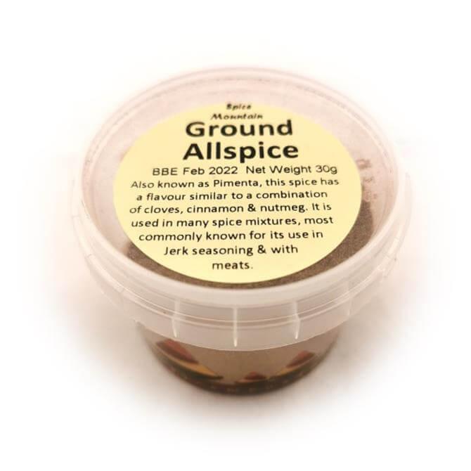 Spice Mountain-  Ground Allspice 30g
