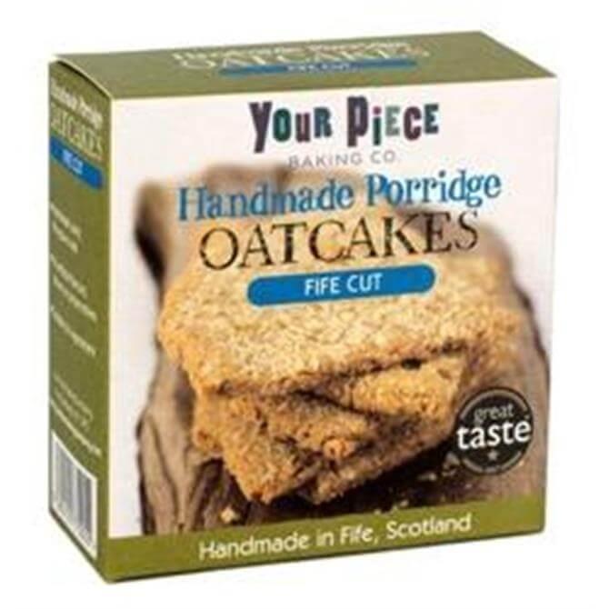 Your Piece Handmade Porridge Oatcakes Fife Cut 150G