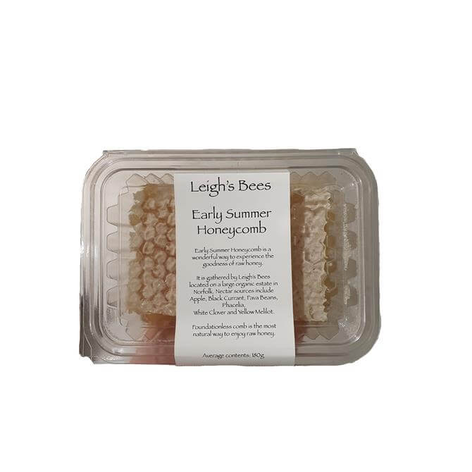 Leigh's Bees Early Summer Honeycomb 454g