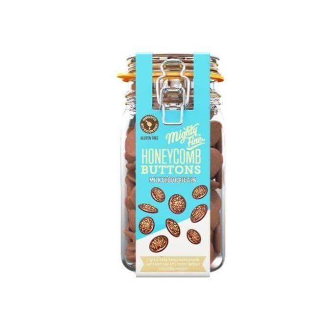 Mighty Fine Milk Chocolate Honeycomb Buttons  900g