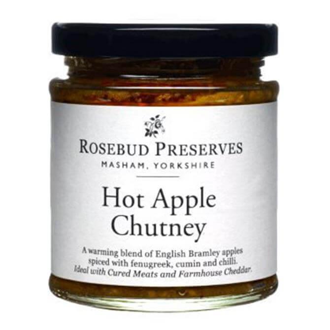 ROSEBUD PRESERVES HOT APPLE CHUTNEY 184G