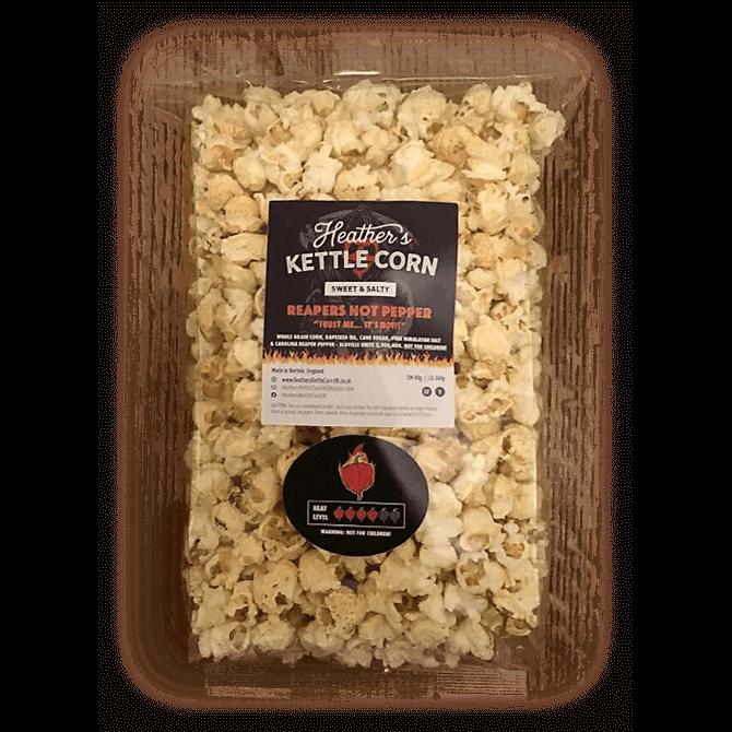 Heather's Kettle Corn Sweet & Salty Reapers Hot Pepper Popcorn