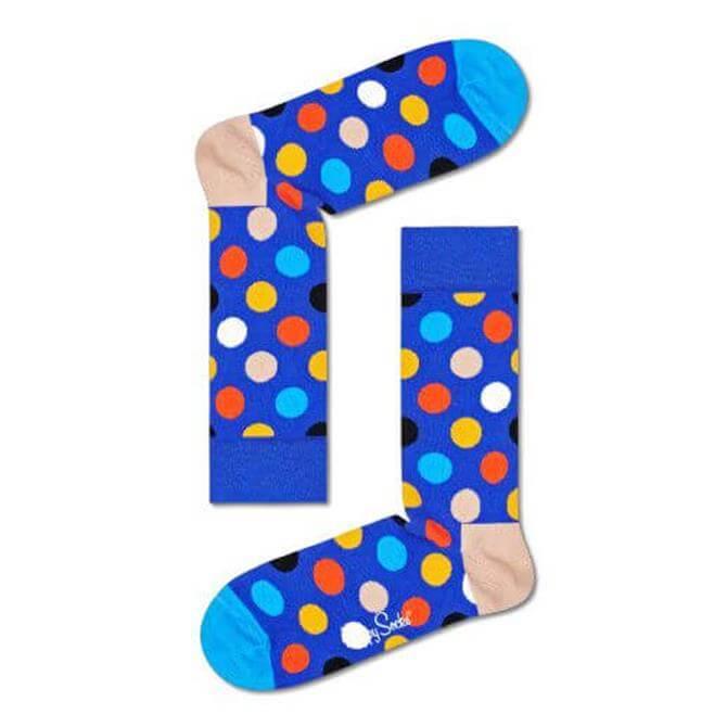 Happy Socks Big Dot Multi Colour Socks