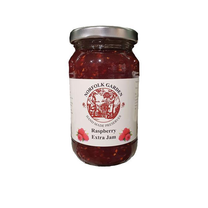Norfolk Garden  - Raspberry Extra Jam 454G