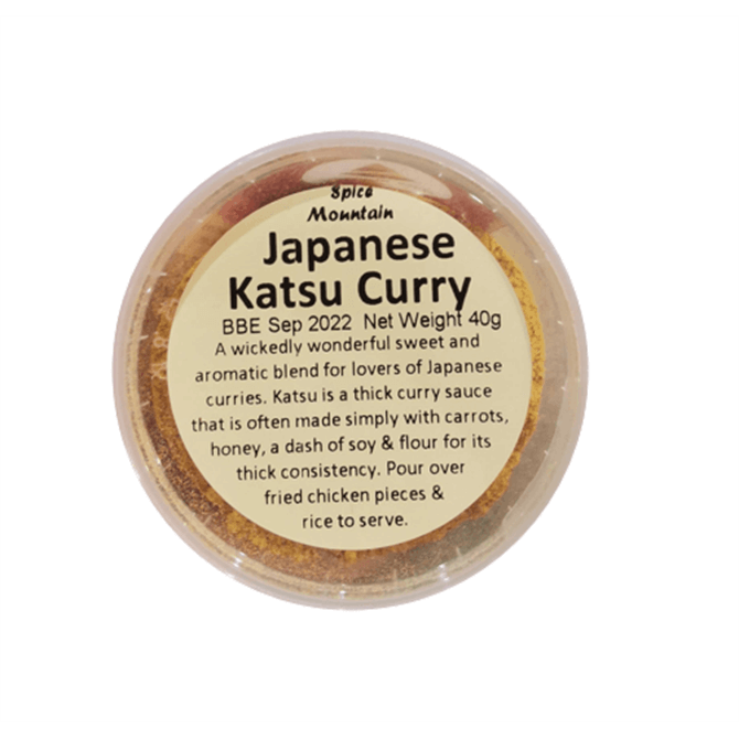 Spice Mountain Japanese Katsu Curry 40g