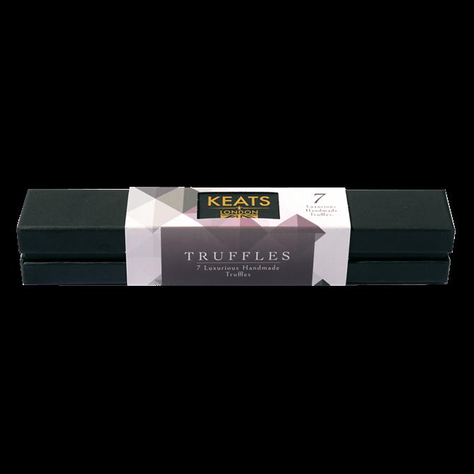Keats Luxury 7 Piece Truffle Assortment Gift Box 87G.
