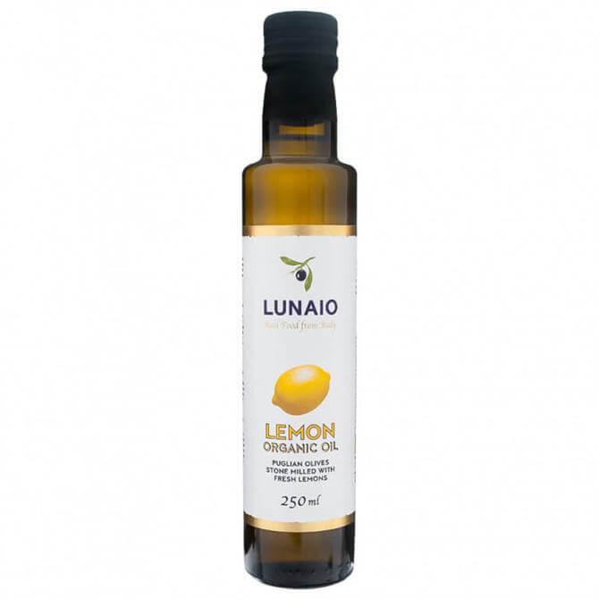 Lunaio Organic Extra Virgin Olive Oil With Lemons 250ml