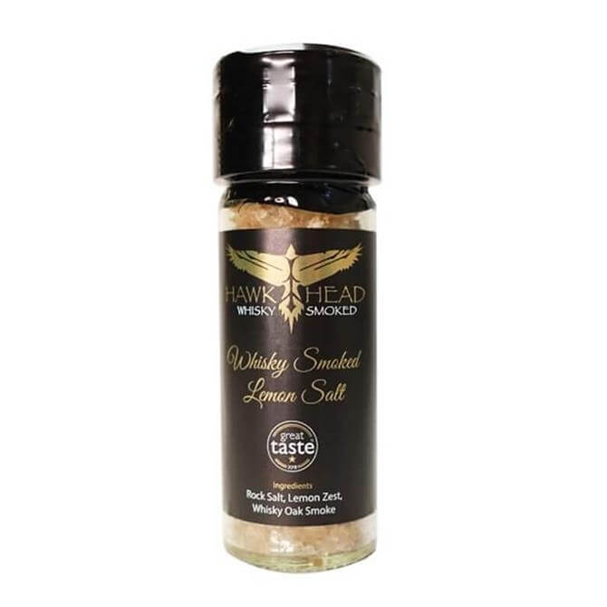 HawkHead Whisky Oak Smoked Lemon Rock Salt 95g