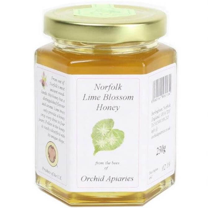 Orchid Apiaries Norfolk Lime Clear Honey 230g