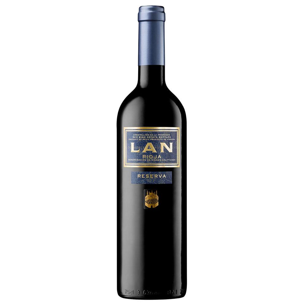 An image of Bodegas LAN Rioja Reserva Red Wine, 2012
