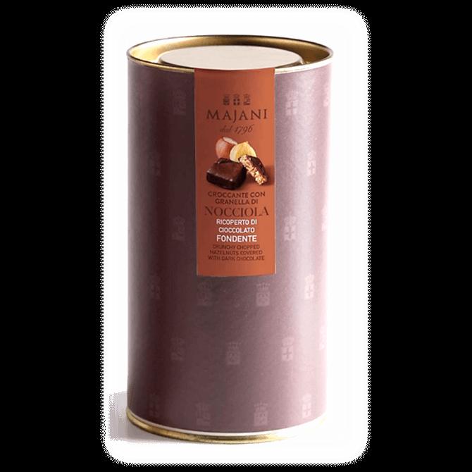 Majani Crunchy Majani with Chopped Dark Chocolate Hazelnuts 130g