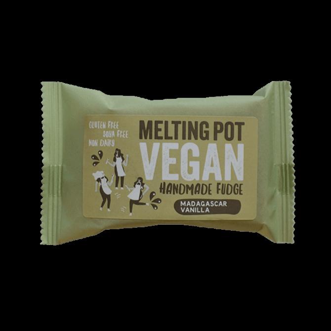 Melting Pot - Handmade Madagascar Vanilla Vegan Fudge 90gMelting Pot - Handmade Madagascar Vanilla Vegan Fudge 90g