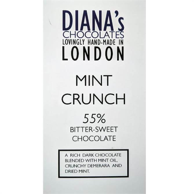 Diana's Chocolates Mint Crunch Dairy Free 100g