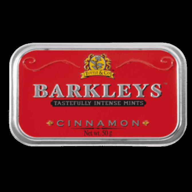 Barkleys Cinnamon Intense Mints Tins 50g