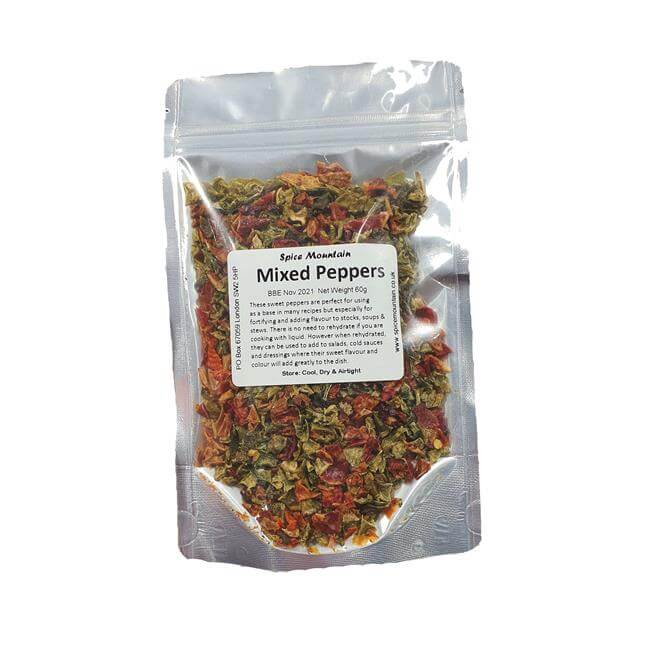 Spice Mountain - Mixed Dried Peppers 60G