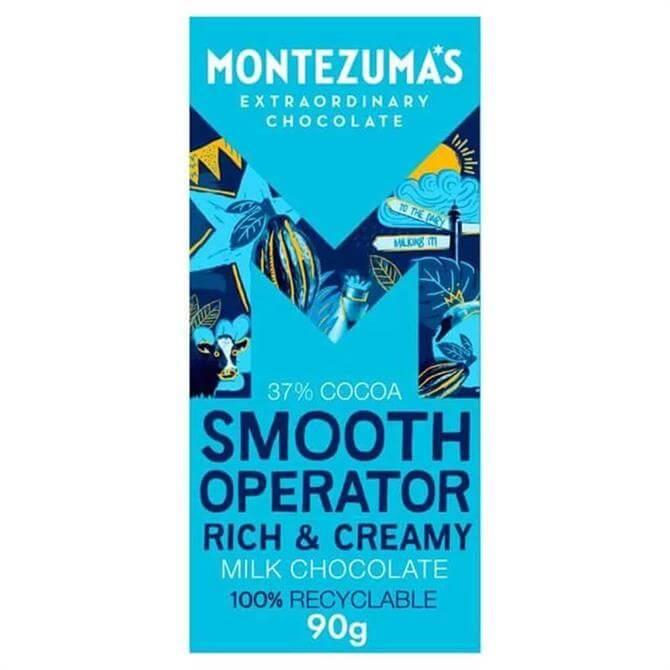 Montezumas Smooth Operator Milk Chocolate 90G