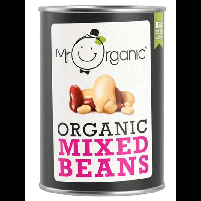 Mr Organic Mixed Beans 240G