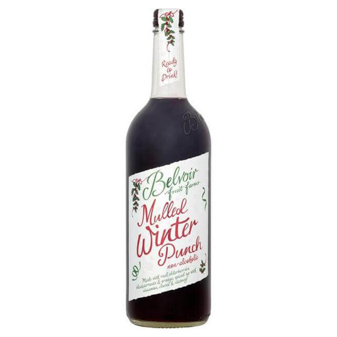 Belvior Alcohol Free Fruit Mulled Winter Punch 750ml