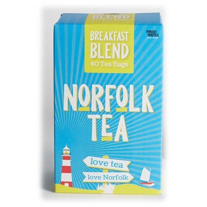 Norfolk Tea 40 Breakfast Blend Tea Bags