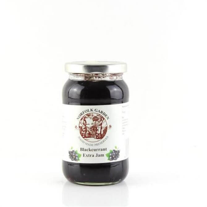 Norfolk Garden Preserved Blackcurrant Extra Jam 454g