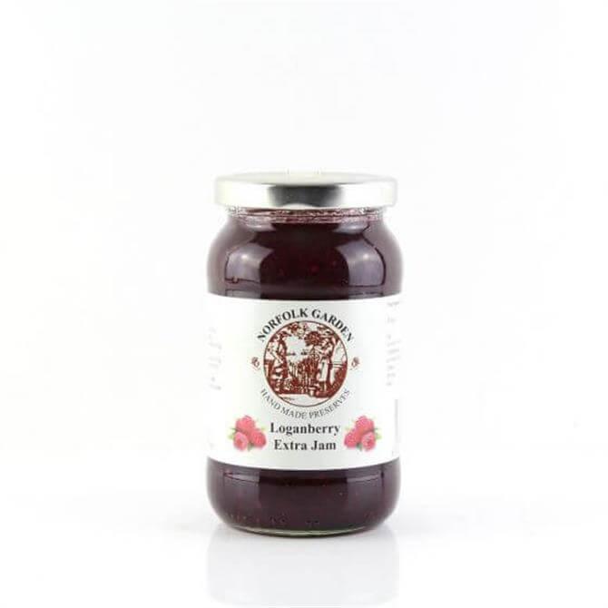 Norfolk Garden Preserved Loganberry Extra Jam 454g