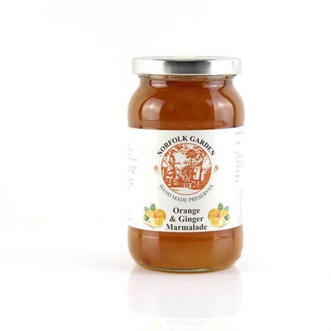 Norfolk Garden Preserved Orange and Ginger Marmalade 454g