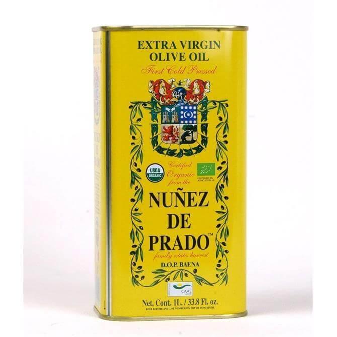 Nunez De Prado Organic Cold Pressed Extra Virgin Olive Oil 1L