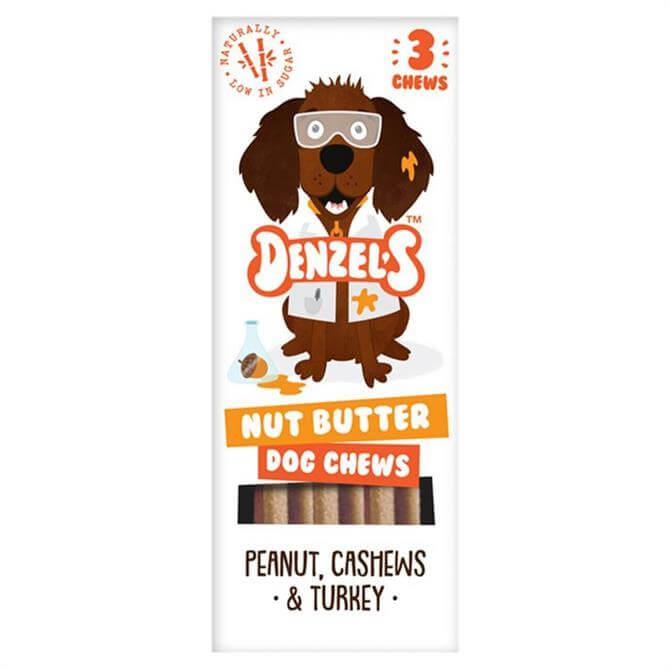 Denzel's Low Sugar Nut Butter Dog Chews 55g